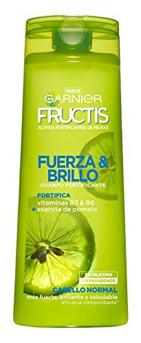 Garnier Fructis Fuerza y Brillo Champú Pelo Normal - 300 ml