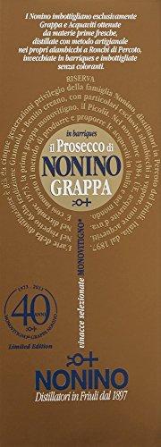 Nonino Grappa Il Prosecco Monovitigno im Barrique gereift 41% vol. in Geschenkpackung (1 x 0.7 l) - 2