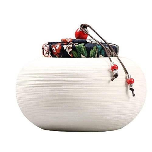 Alqn Cremación Entierro primitivo Ceniza Entierro de ceniza Cerámica primigenia Recuerdo de cerámica hecho a mano primigenio,A