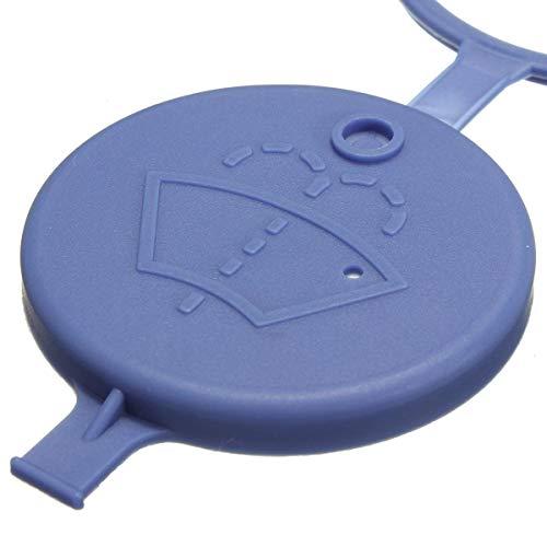 1 tapa de cierre para depósito de agua de limpiaparabrisas del depósito de agua de lavado, tapa de cierre (106021) – Hallenwerk