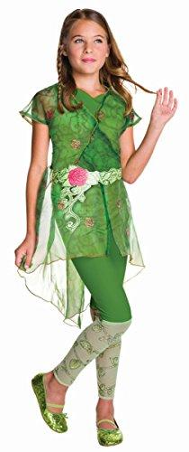 Rubie's Kinder Kostüm DC Super Hero Girls Poison Ivy Karneval 7 bis 9 J.