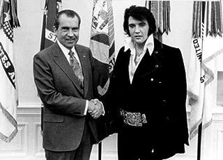 ConversationPrints Elvis Meets President Richard Nixon Glossy Poster Picture Photo Print 1973