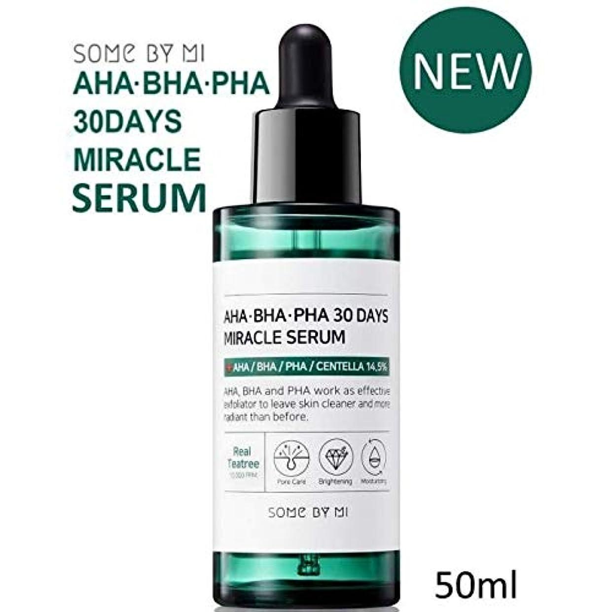 宣伝職業キュービック[Somebymi] AHA BHA PHA 30Days Miracle Serum 50ml/Korea Cosmetic