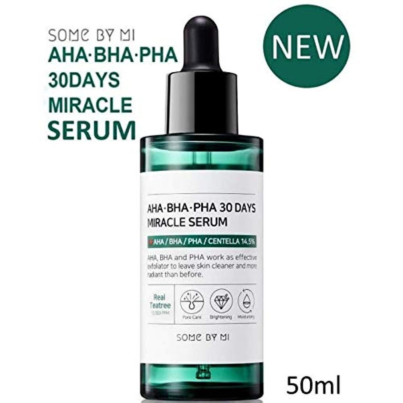 巨大なキャビン羽[Somebymi] AHA BHA PHA 30Days Miracle Serum 50ml/Korea Cosmetic