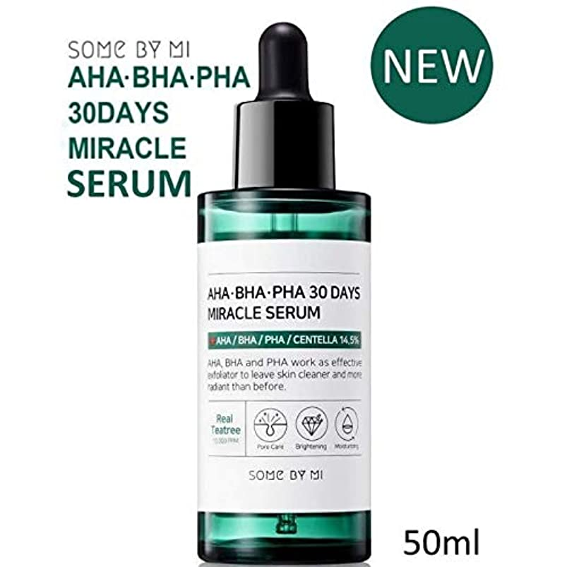 鑑定前兆ベーコン[Somebymi] AHA BHA PHA 30Days Miracle Serum 50ml/Korea Cosmetic [並行輸入品]