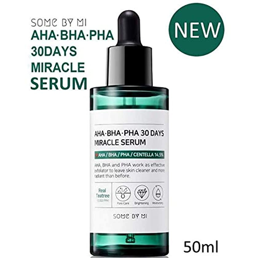 些細なグラフビン[Somebymi] AHA BHA PHA 30Days Miracle Serum 50ml/Korea Cosmetic [並行輸入品]