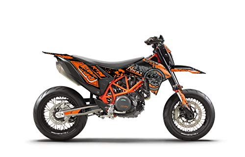 ARider Dekor für KTM 690 SMC-R 2019-2021 Smiley Edition (Orange)