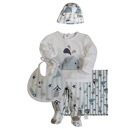 boboli 108032 - Pijama de dos piezas para niños, color mehrfarbig (multicolor 9802), talla Talla alemana: 62 (Talla fabricante: 3M)
