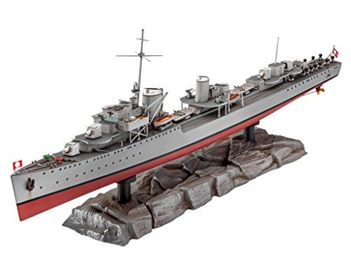 Revell Maqueta de Barco 1: 350 – German Destroyer Type