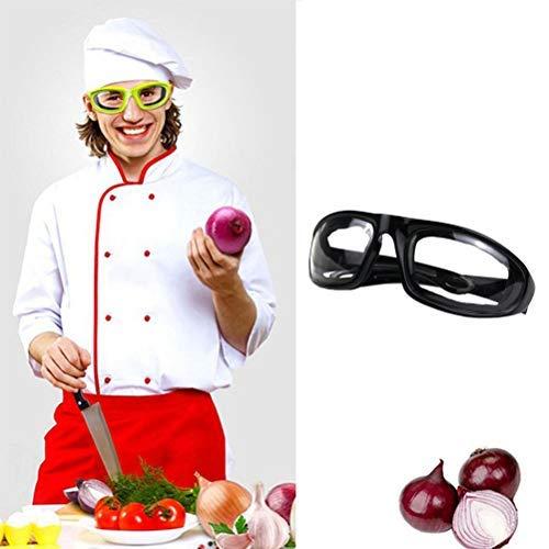 LifeBest Küchenzwiebelbrille Tränenfreie Zwiebelschneidebrille Antibeschlagte Zwiebelbrille Winddichte staubdichte Augenschutz Generika Professionelle Langlebige Zwiebelbrille