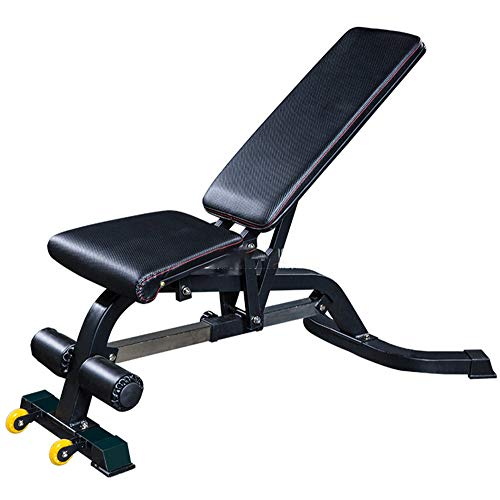 AWJ Professionelle Hantelbank Fitnesstraining Adjustable Chair Sit Up Bench Übung Fitnessgeräte Laden 300kg