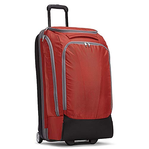 eBags Mother Lode Checked Rolling Duffel 29 Inch (Sinful Red)