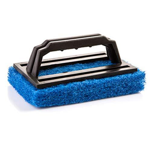 Reinigungsschwammbürste, ergonomisch, leicht, für Whirlpools, Schwimmbäder, blau, Free Size
