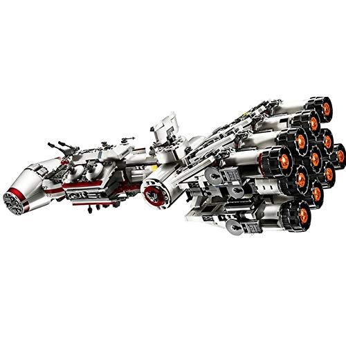 WLC Edición de coleccionista Bloques de construcción Ladrillos Juguetes Star Wars Tantive IV Nave Espacial Serie Técnica Boy Building Block Toy