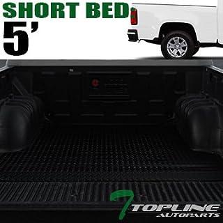Topline Autopart Black Rubber Diamond Plate Truck Bed Cargo Box Floor Mat  Carpet 15-17 01b0a825af51