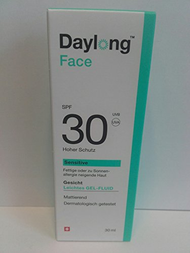 Daylong Face SPF 30 Gelfluid, 30 ml