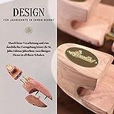SEEADLER® Premium Schuhspanner - St. John Edition aus kanadischen Zedernholz für Herrenschuhe- 40 EU - 5