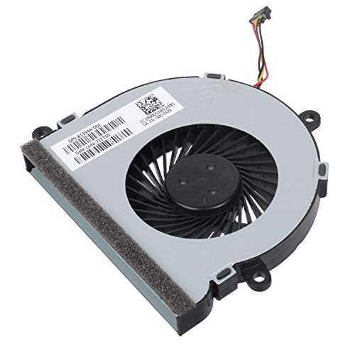 S-Union Replacement CPU Cooling Fan for HP 15-AC 15-AY 15-AC020nr 15-ac150ds 15-ac151dx 15-ac148ds 15-ac158nr 15-ac159ur 15-ac136ds 15-ac121dx 15-ac142dx Laptop PN:DC28000GAD0 813946-001 KSB05105HAAEP