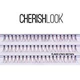 Cherishlook Professional 10packs Eyelashes - Flare (Brown) (Long)