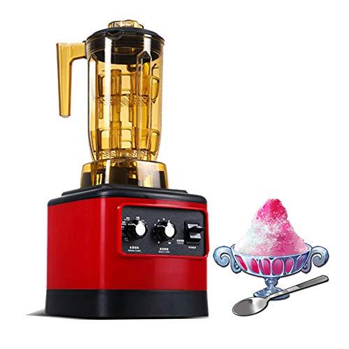 HXXXIN Máquina De Batidos De Tienda De Té De Leche Multifuncional Comercial, Máquina De Batidos De Batido De Batido De Hielo Triturado De Jugo De Cubierta De Leche, Velocidad De Rotación 30.000 RPM