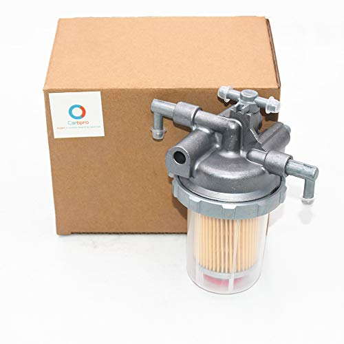 Partman AM879740 Fuel Filter Assembly Fits John Deere 110 990 4500 4510 4600 4610 4700 4710 990 WF 1600 WF 1620 WFT 1600
