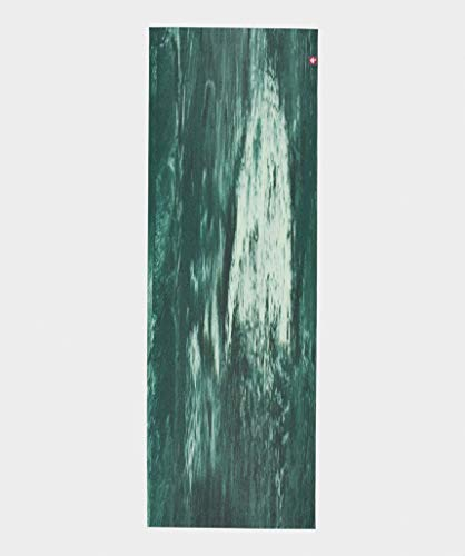 マンドゥカ(Manduka)エコスーパーライトトラベルヨガマット(1.5mm)20FWヨガマット日本正規品/ディープフォレストマーブル(グリーン)F