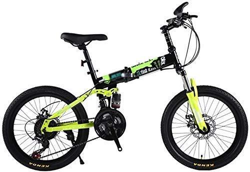 Vélos de Montagne étudiant Bicle extérieur Bicle for Les Enfants de 20 Pouces de vélo de Montagne for Les Enfants Voyage Pliant Bicle for Les Enfants Speed Mountain Bike Boy and Girl 3~15 Ans Lin