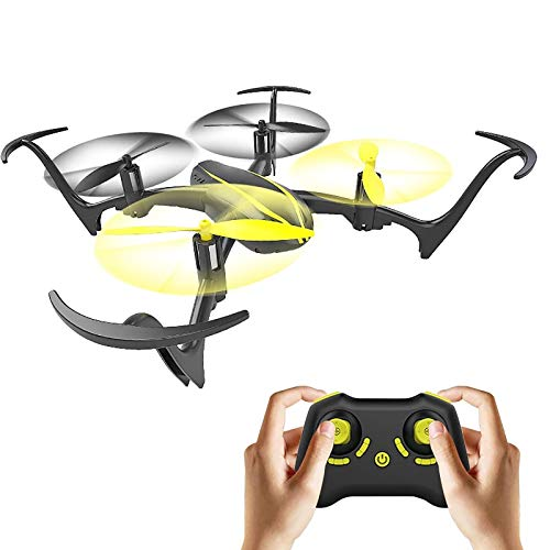 tyuiop Drone with 2.4G Remote Control, RC Inverted Flight Quadcopter Toy for Kid Aerobatic Double-Sided Flight Helicopter Four-axis Aircraft Headless Modes, LED Light