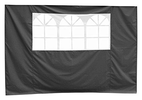 Justus Zubehör, Seitenteil mit Fenster, schwarz, 3x6x9 cm, 1310 86