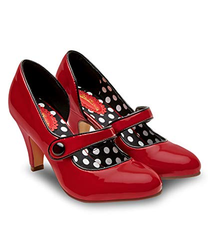 Joe Browns Damen Mine's a Martini Shoes Pumps, Rot (Red A), 36 EU