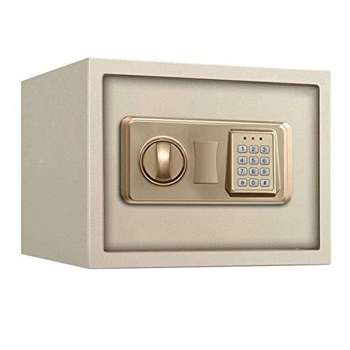 Caja fuerte de seguridad, caja fuerte de seguridad digital / para oficina en el hogar con cerradura electrónica y teclado con ranura para depósito en efectivo para montaje en el piso o en la pared -
