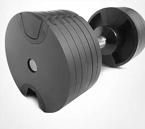 W & D Premium Kurhanteln System 1 x 20kg verstellbare Kurzhantel, einstellbare Kurzhantel von 2KG bis 20KG, sehr gut für Zuhause und Fitnessstudio geeignet.