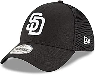 New Era San Diego Padres Black Neo 39THIRTY Flex Hat