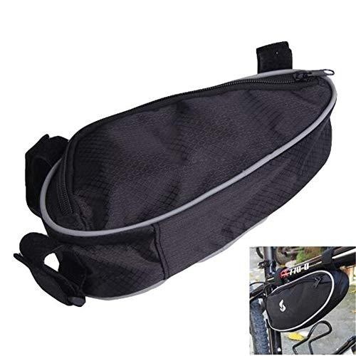 Bolsa para cuadro de bicicleta Bici de la bicicleta bolsa de accesorios frontal del marco del tubo del filtro del bolsillo for la bicicleta de la bolsa for el teléfono móvil Robusto y fácil de limpiar