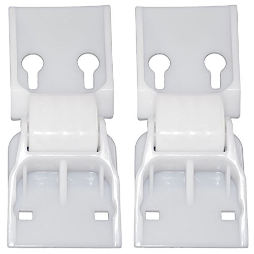SPARES2GO Counterbalance Door Lid Hinges for Norfrost Chest Freezer