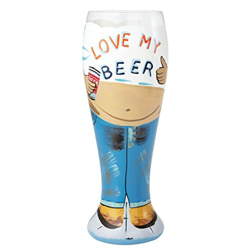 """Lolita, Vaso de cerveza """"Quiero mi Cerveza"""", Enesco"""