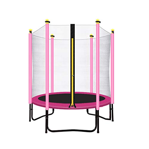 Trampolines TX- Mini pour Enfants de 60 cm de Hauteur avec Enceinte de sécurité - Cadeaux d'anniversaire pour Enfants, pour garçon et Fille - Max Limit 440 lbs