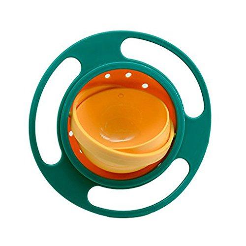 Kinder Schüssel Plastikschüssel. Gyro-Schüssel gießen Sie Keine Schüssel 222g 51p (Color : A)