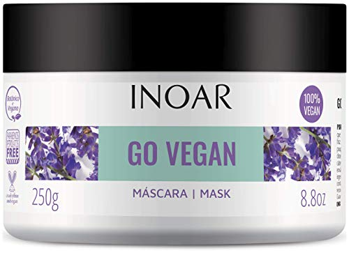Inoar Mascara Go Vegan Anti Frizz 250 Gr, Inoar
