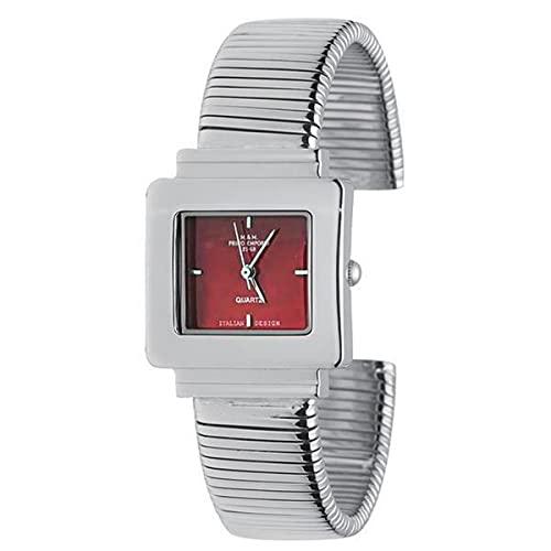 M&M - Reloj de mujer elegante a la moda Primo Emporio Reloj de mujer TuboGas 560r de acero