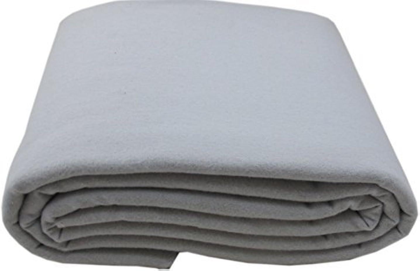 Anti-Tarnish Silver Cloth - Pre-cut by the Yard - Light Gray (2 Yards by 58
