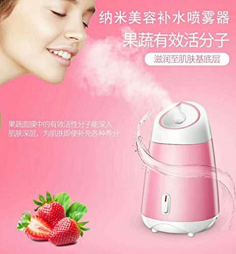 Medidor De Hidratación De Agua, Caliente De Venta De Nanobelleza Vaporoso Máquina De La Cara Doméstica Hidratante De Mantenimiento Facial Rosa