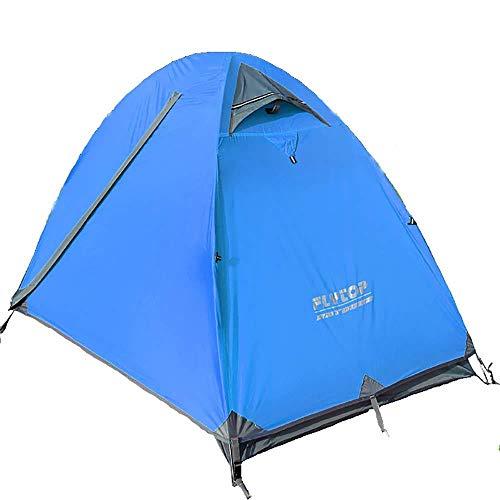 Festival Dome 1 Man Camping Tent - Veranda Gebied, Grond, Waterbestendig Backpacking Tent, Lichtgewicht, Gemakkelijk Pitch Festival Tent