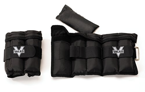 Valeo  Ankle/Wrist Weights - 10 lbs. Total (5 lbs. each)