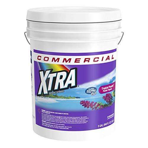 Xtra 94514-00290 Liquid Laundry Detergent Tropical Passion, 640 oz, 5 Gallon Pail