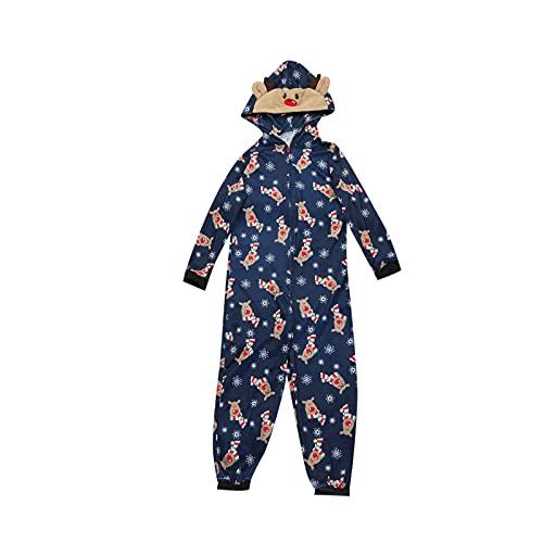 Juego de pijama de una pieza para Navidad, disfraz de alce, animal, mono, pijama, ropa de dormir para el hogar, Mommy, XXL