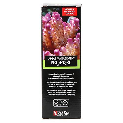 Red Sea R22204 NO3:PO4-X, biologischer Nitrat- und Phosphatentferner für Korallen, 1 L