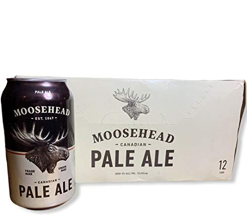 12 Dosen Moosehead Pale Ale 0,355l ein Bier mit 5% Alc. aus Kanada