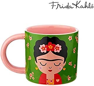 Sass /& belle plegable bolsa de compras-frida kahlo-Pink
