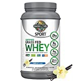 Garden of Life Sport Certified Grass Fed Clean Whey...